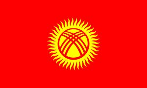 kirguistan bandera