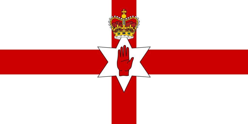 bandera de Irlanda del norte no oficial