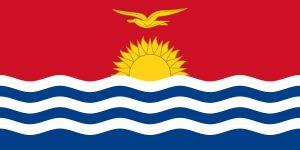 kiribati bandera