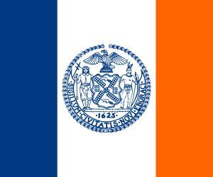 nueva york bandera