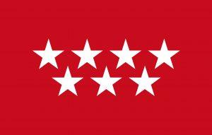 Comunidad de Madrid bandera
