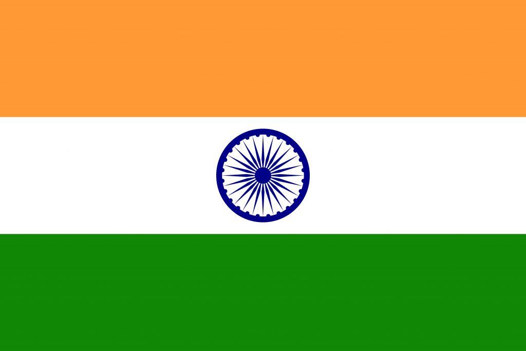 la india bandera
