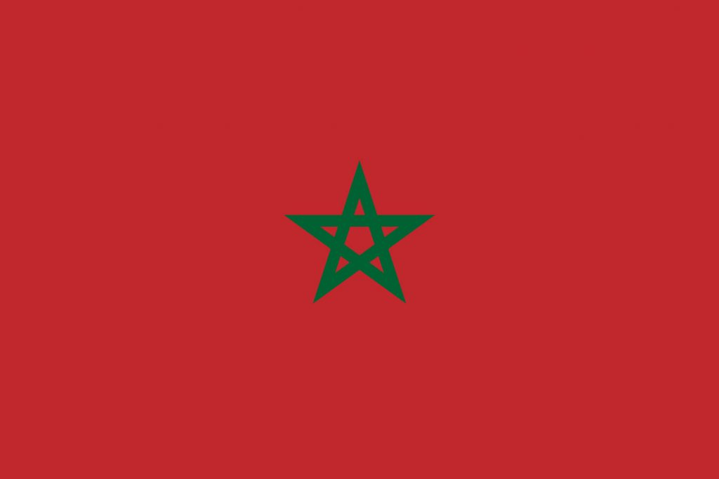 marruecos bandera