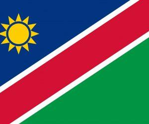 namibia bandera