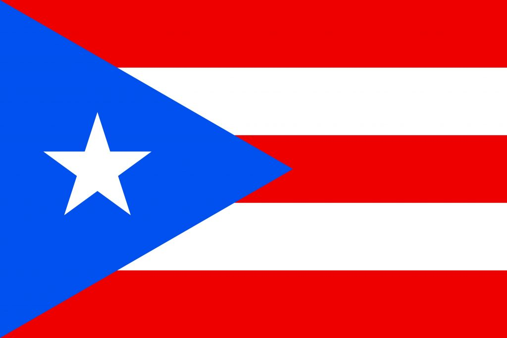 puerto rico bandera