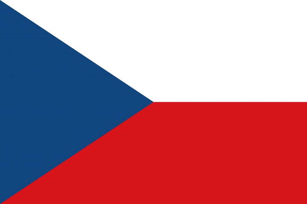 republica checa bandera