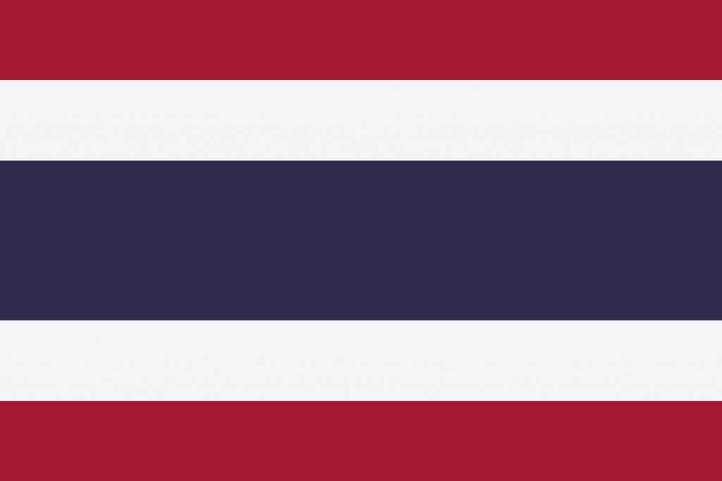 Bandera de Tailandia ☑️ | Significado de sus Colores ✍️