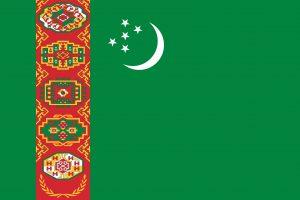 turkmenistan bandera