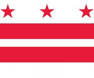 washington dc bandera