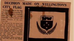 bandera rechazada de wellington