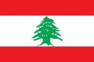 libano bandera