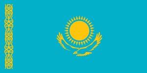 bandera de kazakhstan