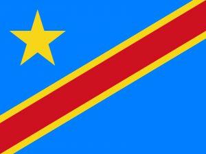 bandera de la rep democratica del congo