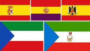 banderas coloniales de Guinea Ecuatorial