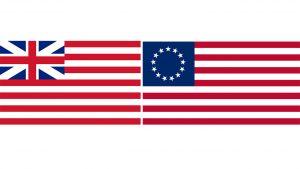 banderas historicas de Estados Unidos