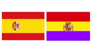 Banderas históricas de la república española