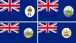 banderas historicas oficiales de hong kong