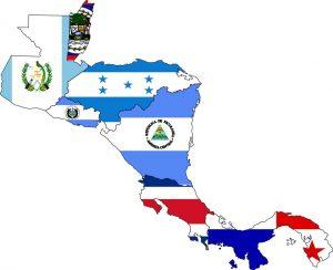 paises de centroamerica y sus banderas