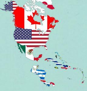 banderas paises america del norte
