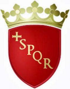 escudo de roma en italia