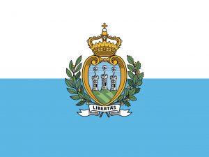 san marino bandera