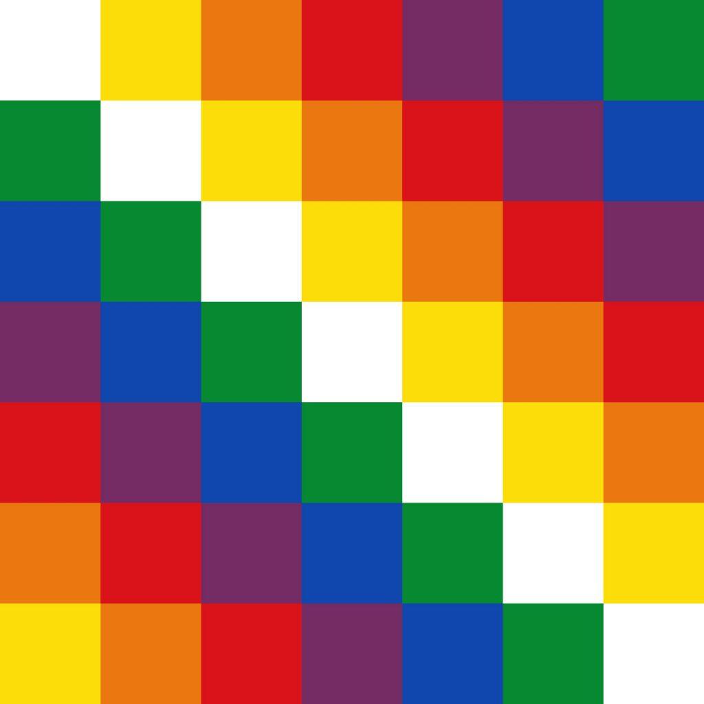 Bandera de Quechua ▽ | Historia y Significado de sus Colores