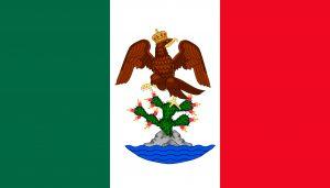 bandera del imperio de mexico y nicaragua bandera