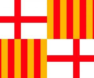 bandera de barcelona actual
