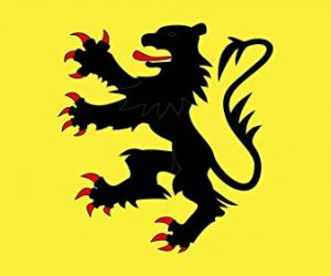 bandera de flandes