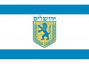 bandera de jerusalen