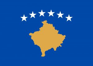 kosovo bandera