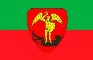 bandera de la ciudad de bruselas