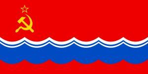Bandera de estonia durante la urss