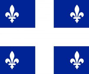 quebec provincia bandera