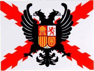 bandera de los tercios españoles