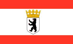 bandera del gobierno de berlin