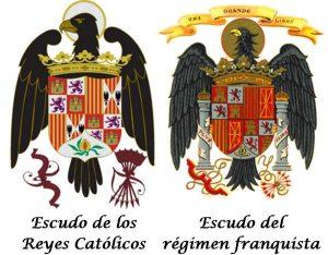 yugo y flechas en los escudos de los reyes catolicos
