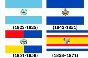 banderas historicas de guatemala