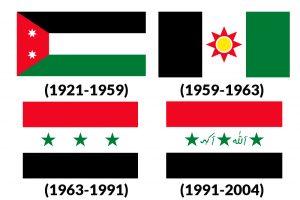banderas historicas de irak