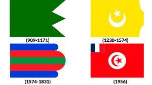 banderas de tunez historicas