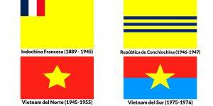 banderas historicas de vietnam