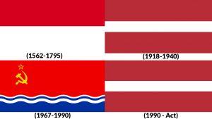 banderas historicas de letonia