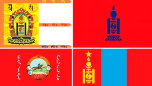 banderas de mongolia evolucion