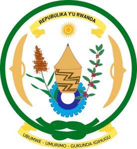 Ruanda escudo oficial