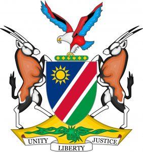 namibia escudo de armas