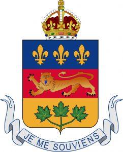 Escudo de Quebec