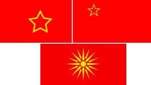 evolucion de la bandera de macedonia