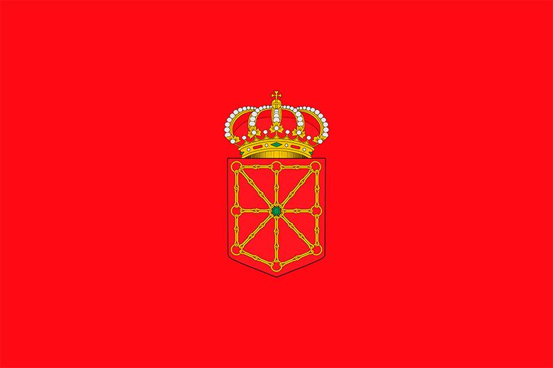bandera oficial de navarra