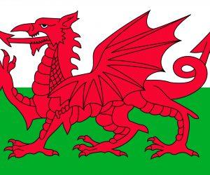 bandera de gales oficial