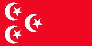 bandera de egipto durante el protectorado britanico